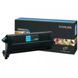 Lexmark C9202CH žydra tonerio kasetė