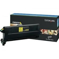 Lexmark C9202YH geltona tonerio kasetė