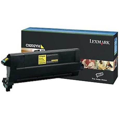 Lexmark C9202YH yellow toner cartridge (C9202YH)