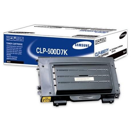 Samsung CLP-500D7K jblack toner cartridge (CLP-500D7K)