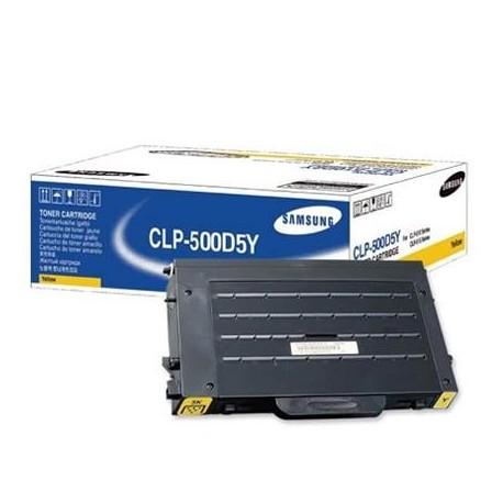 Samsung CLP-500D5Y yellow toner cartridge (CLP-500D5Y)