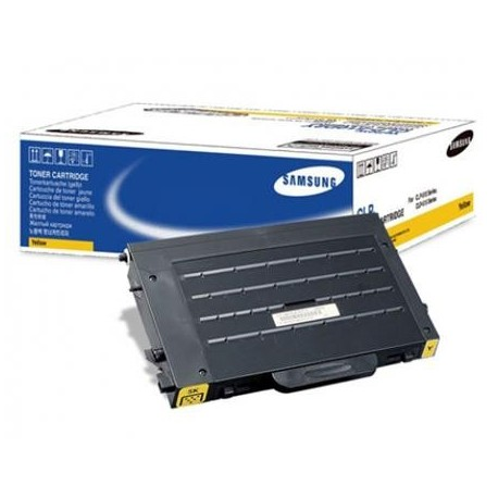 Samsung CLP-510D5Y yellow toner cartridge (CLP-510D5Y)