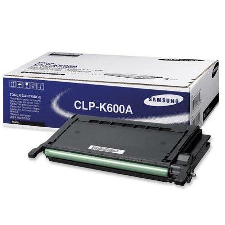 Samsung CLP-K600A juoda tonerio kasetė