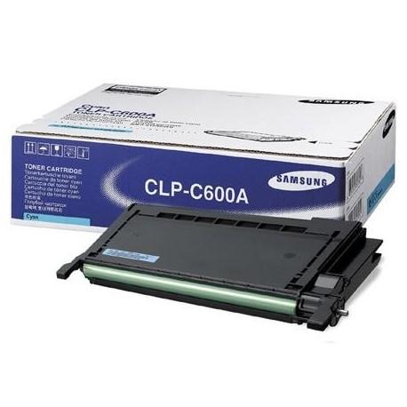 Samsung CLP-C600A cyan toner cartridge (CLP-C600A)