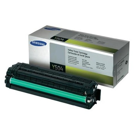 Samsung Y504S yellow toner cartridge (CLT-Y504S)