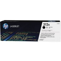 HP 312A black toner cartridge (CF380A)
