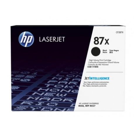 HP 87X higher capacity black toner cartridge (CF287X)