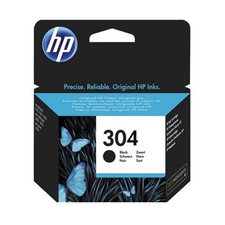 HP 304 juoda rašalo kasetė (N9K06AE Nr. 304)