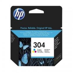 HP 304 daugiaspalvė rašalo kasetė (N9K05AE/Nr. 304)