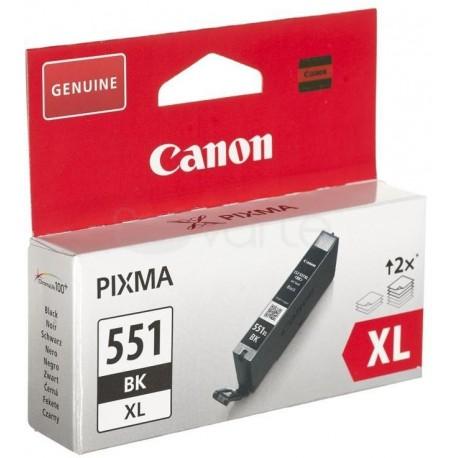 Canon CLI-551BKXL didesnės talpos juoda rašalo kasetė (CLI551BKXL)