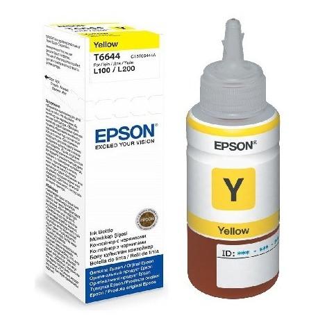 Epson T6644 yellow ink bottle (C13T664440)