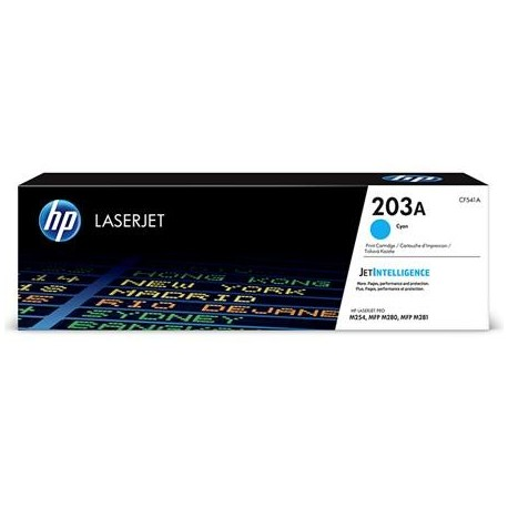 HP 203A cyan toner cartridge (CF541A)