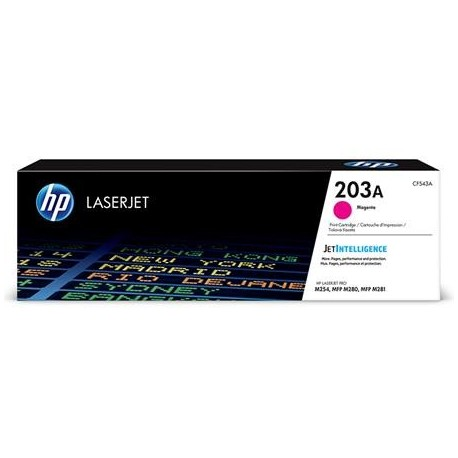 HP 203A magenta toner cartridge (CF543A)