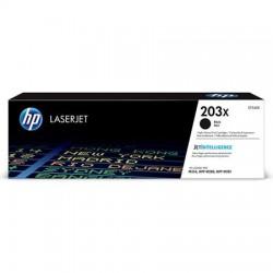 HP 203X didesnės talpos juoda tonerio kasetė (CF540X)