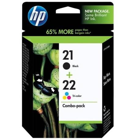 HP 21 / HP 22 rašalo kasečių komplektas (SD367AE)