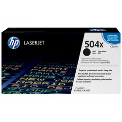 HP 504X higher capacity black toner cartridge (CE250X)