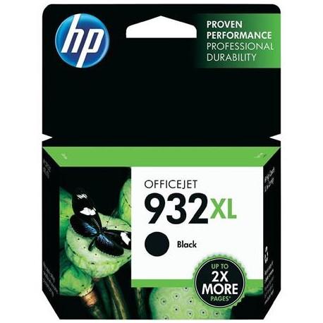 HP 932XL didesnės talpos juoda rašalo kasetė (CN053AE/Nr.932XL)