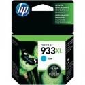 HP 933XL higher capacity cyan ink cartridge