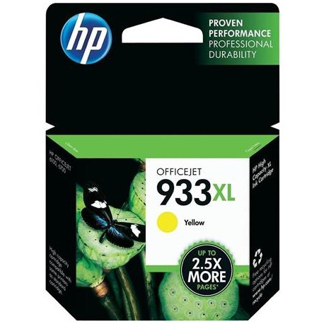 HP 933XL higher capacity yellow ink cartridge (CN056AE/Nr.933XL)