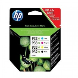 HP 932XL/ HP 933XL rašalo kasečių komplektas (C2P42AE)
