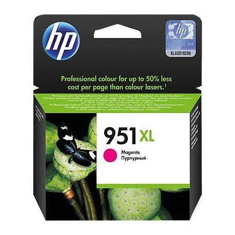 HP 951XL didesnės talpos purpurinė rašalo kasetė (CN047AE/Nr.951XL)