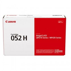 Canon Cartridge 052H higher capacity black toner cartridge