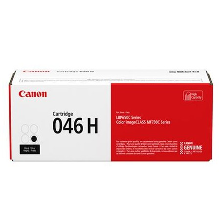 Canon Cartridge 046H didesnės talpos juoda tonerio kasetė