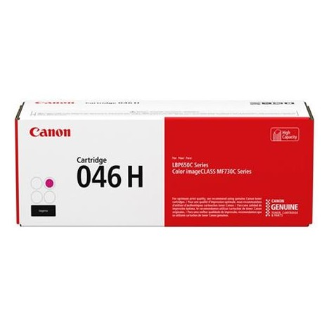 Canon Cartridge 046H higher capacity magenta toner cartridge