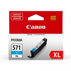 Canon CLI-571CXL didesnės talpos žydra rašalo kasetė