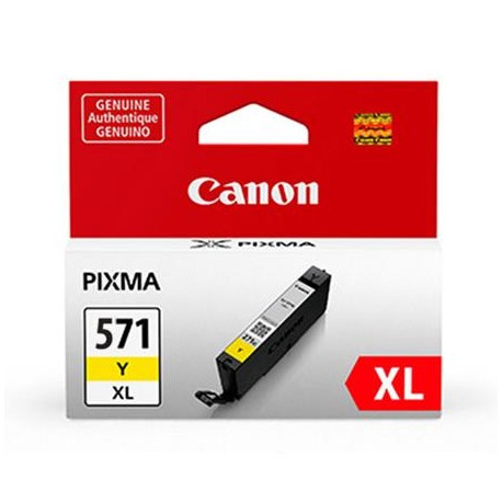 Canon CLI-571YXL higher capacity yellow ink cartridge