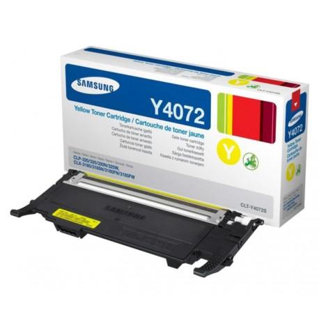 Samsung Y4072 yellow toner cartridge (CLT-Y4072S)