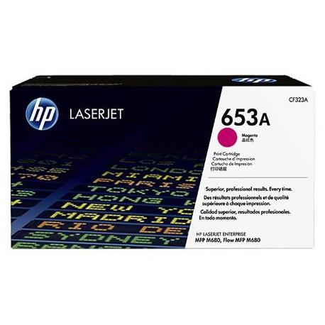 HP 653A magenta toner cartridge (CF323A)