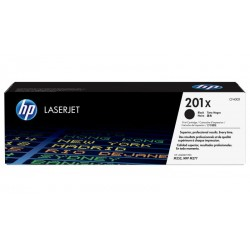 HP 201X higher capacity black toner cartridge (CF400X)