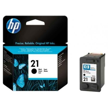 HP 21 juoda rašalo kasetė (C9351AE/Nr.21)