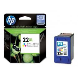 HP 22XL didesnės talpos daugiaspalvė rašalo kasetė (C9352CE/Nr.22XL)