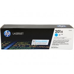 HP 201X higher capacity cyan toner cartridge (CF401X)