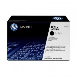 HP 51A black toner cartridge (Q7551A)
