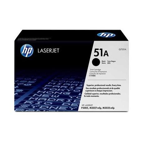 HP 51A black toner cartridge (Q7551A)