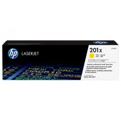 HP 201X higher capacity yellow toner cartridge (CF402X)