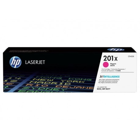 HP 201X higher capacity magenta toner cartridge (CF403X)