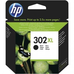 HP 302XL higher capacity black ink cartridge (F6U68AE/Nr.302XL)