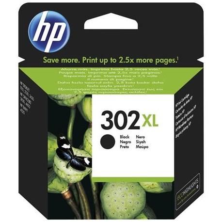 HP 302XL higher capacity black ink cartridge (F6U68AE/Nr.302XL)