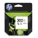 HP 302XL higher capacity multicolored ink cartridge
