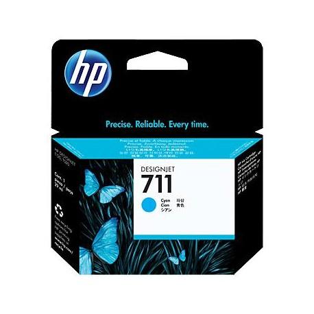 HP 711 žydra rašalo kasetė (CZ130A)
