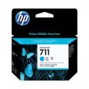 HP 711 cyan toner cartridge in a pack of 3 pcs.