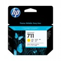 HP 711 yellow ink cartridge in a pack of 3 pcs.