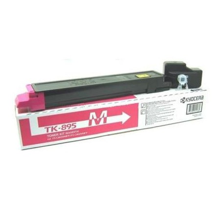 Kyocera TK-895M magenta toner cartridge (TK-895M)