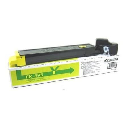 Kyocera TK-895Y yellow toner cartridge (TK-895Y)