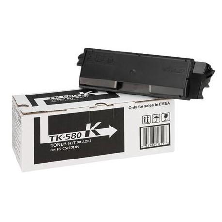 Kyocera TK-580K black toner cartridge (TK-580K)