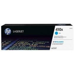 HP 410X žydra didesnės talpos tonerio kasetė (CF411X)
